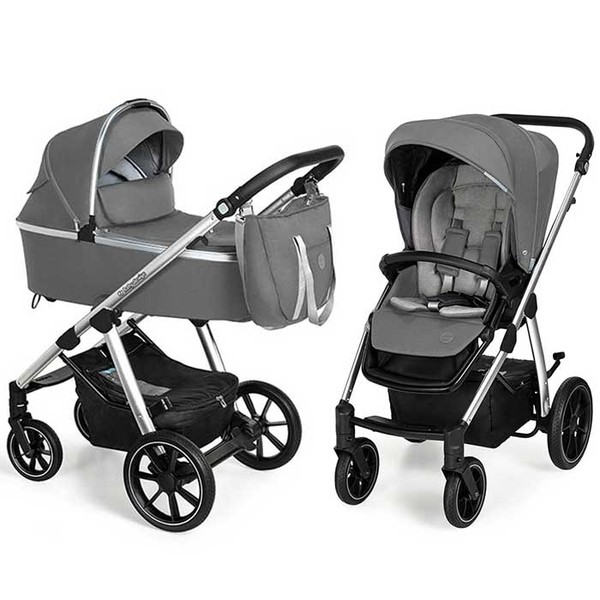 BABY DESIGN Carucior multifunctional 2 in 1 Baby Design Bueno 207 Gray 2020
