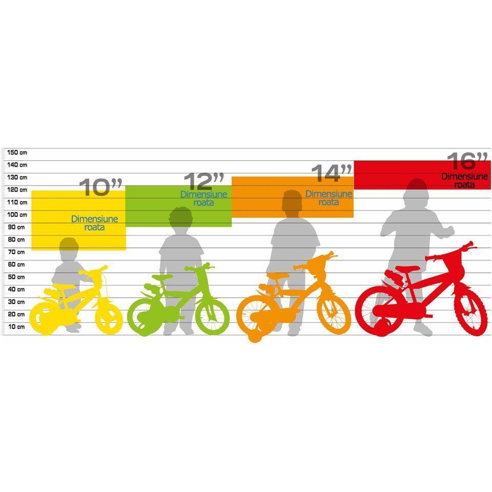 Bicicleta 166 RSN 05 Dino Bikes