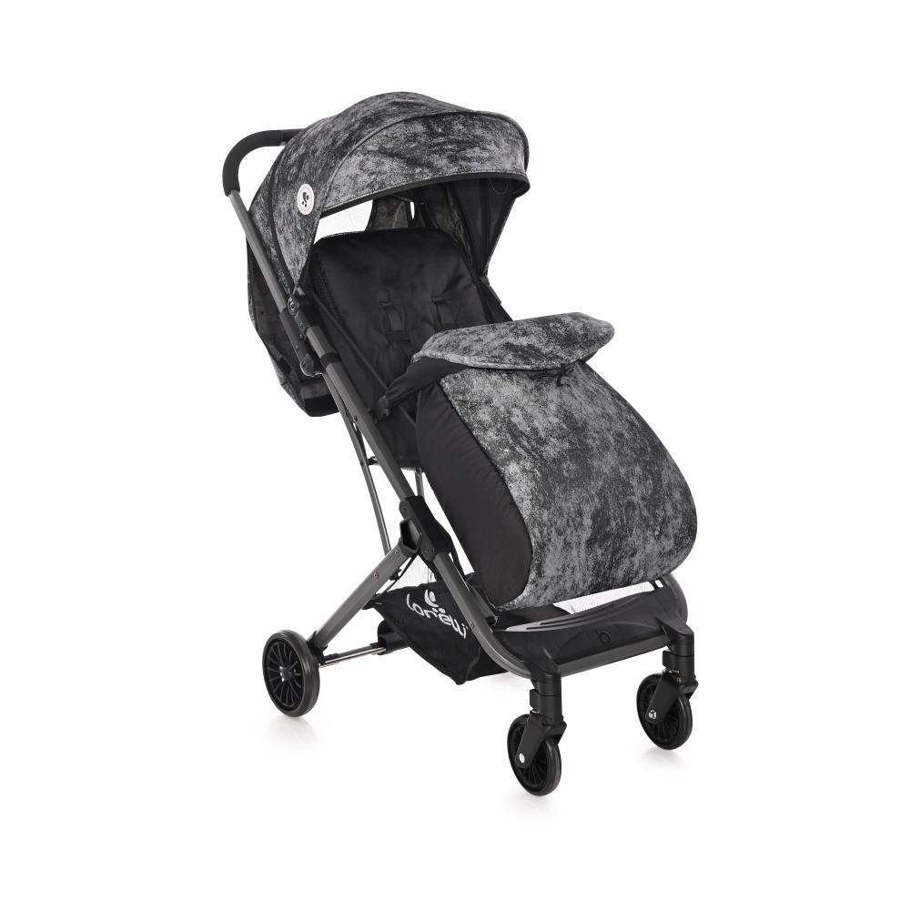 LORELLI Carucior pentru nou-nascut Fiona geanta de transport inclusa Carbon Design