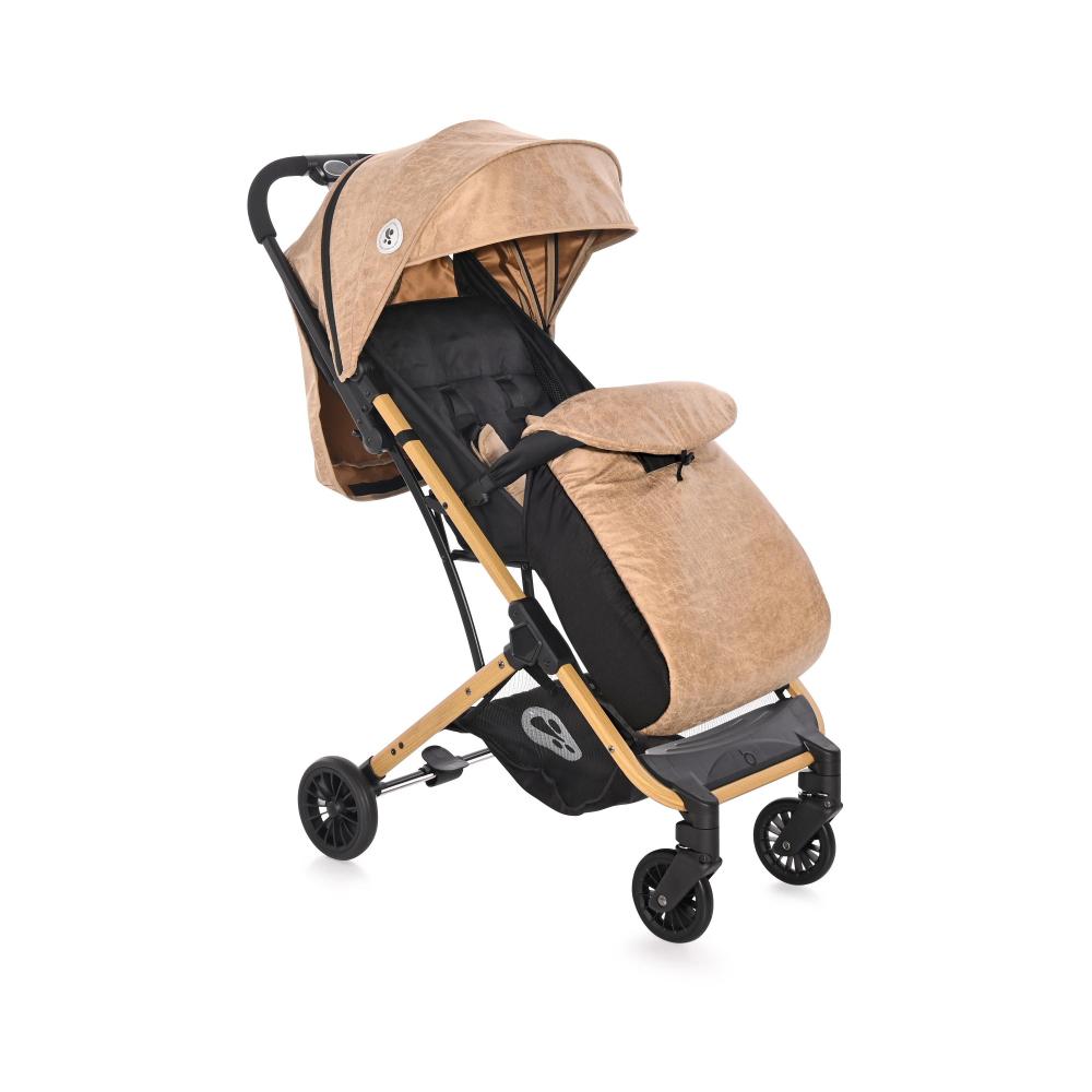 Carucior pentru nou-nascut Fiona geanta de transport inclusa Wooden Design - 2