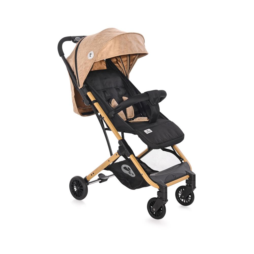 Carucior pentru nou-nascut Fiona geanta de transport inclusa Wooden Design
