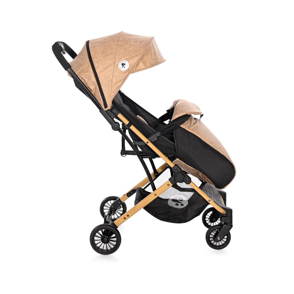 Carucior pentru nou-nascut Fiona geanta de transport inclusa Wooden Design - 1