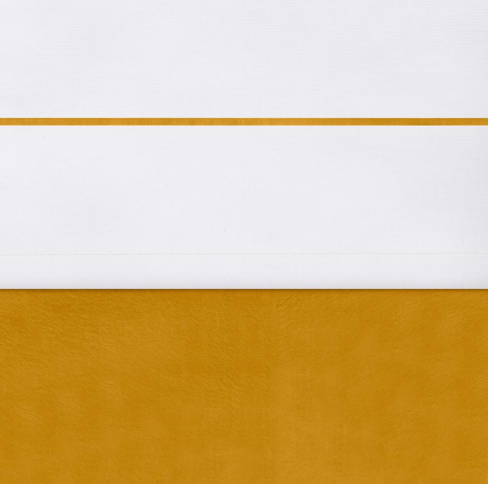 Cearsaf patut Jollein Mustard 120x150 cm