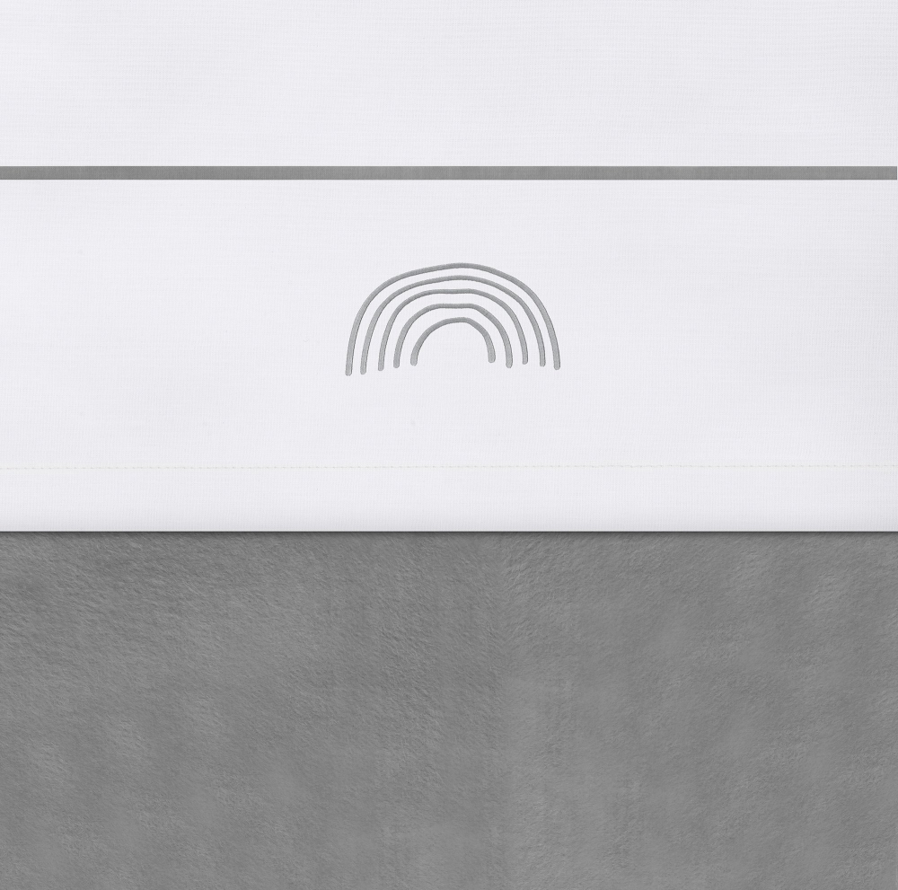 Cearsaf patut Jollein Storm-Grey 120x150 cm