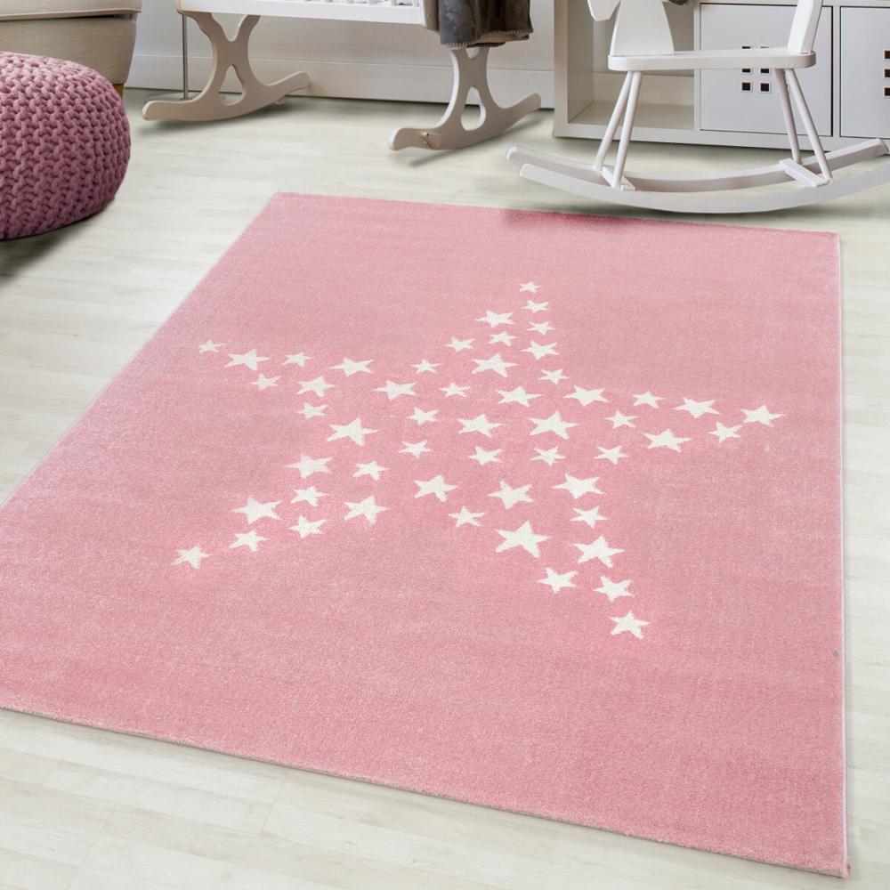 Covor copii tineret Azir roz 160x230 cm