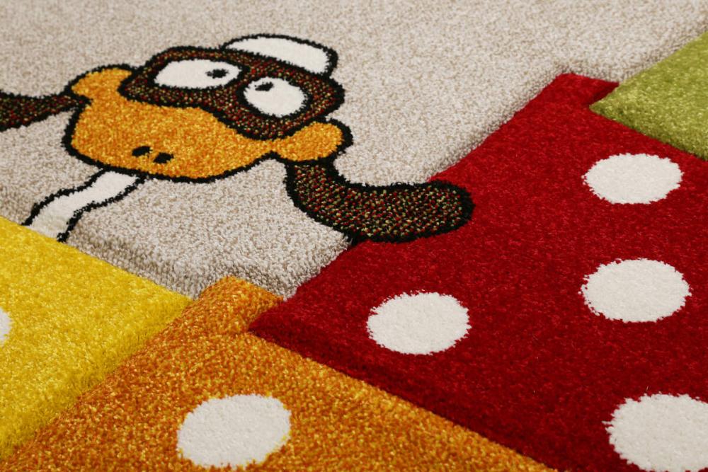 Covor copii tineret Bandidoleros multicolor 80x150