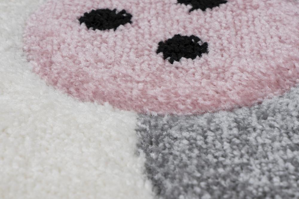 Covor copii tineret Maia roz 80x150