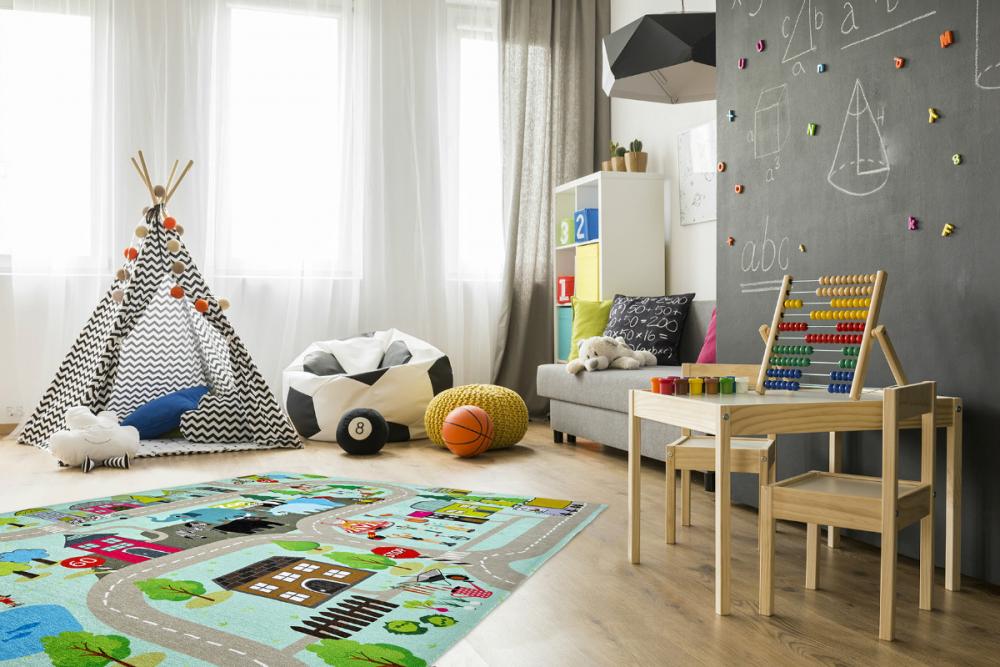 Covor copii tineret Sestus multicolor 120x170