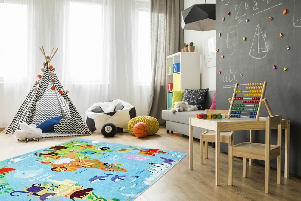 Covor copii tineret Sestus multicolor 80x120