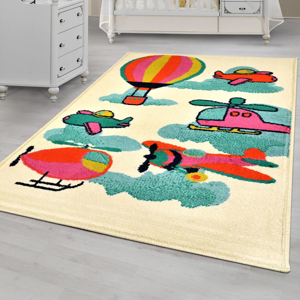 Covor copii tineret Traci multicolor 67x120