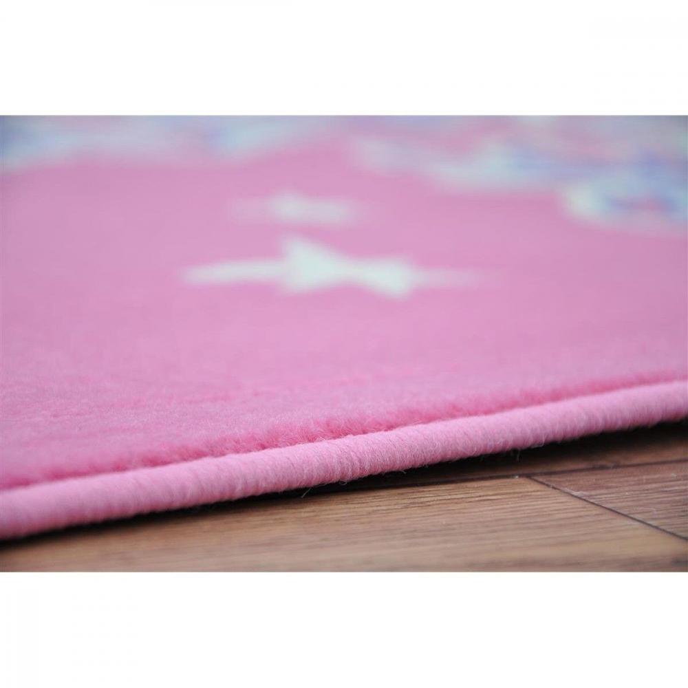 Covor Patchwork Busk roz 120x170