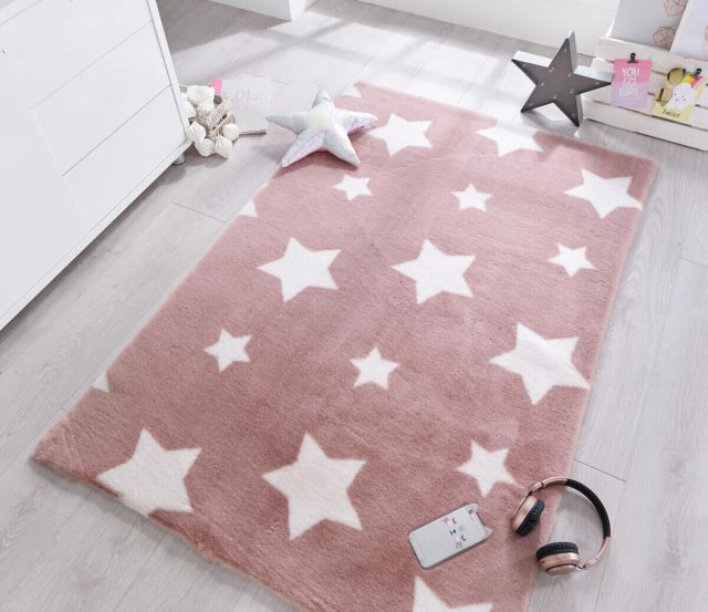 Covor copii tineret Pick N Mix roz 90x150 cm