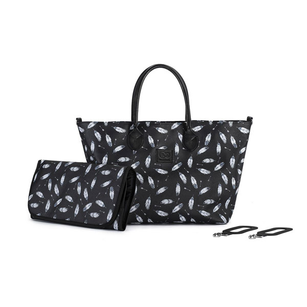 Geanta pentru mamici multifunctionala Mommy Bag black