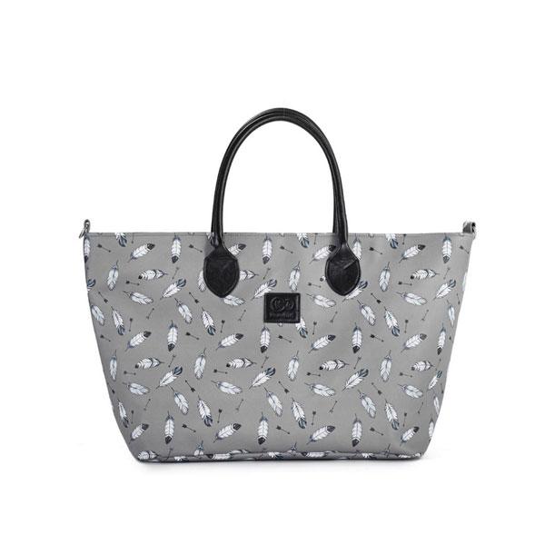 Geanta pentru mamici multifunctionala Mommy Bag grey