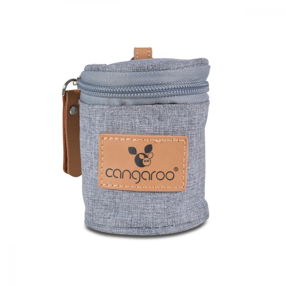 CANGAROO Gentuta pentru suzete si tetine Cangaroo Celio Grey