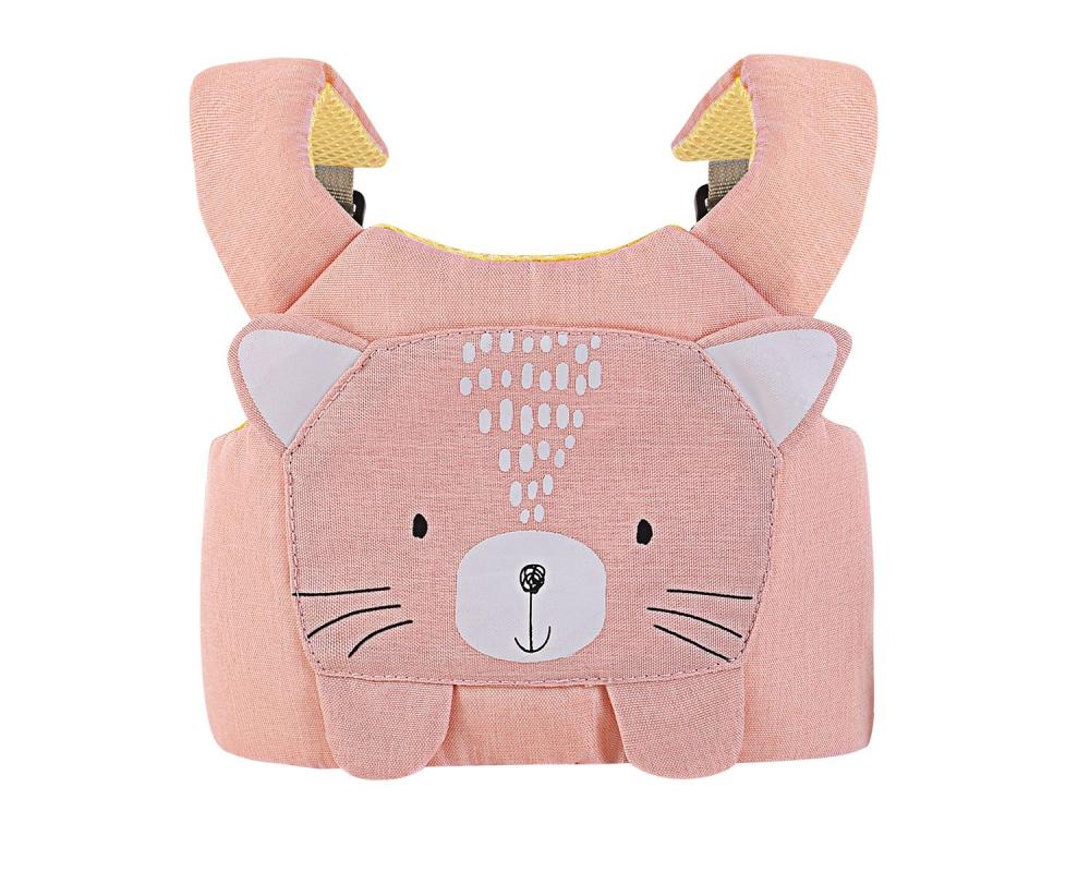 Ham de siguranta pentru copii KikkaBoo Cat Pink