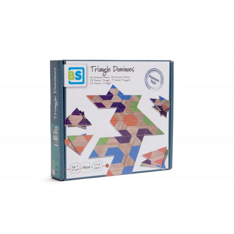 Joc Domino triunghiular BS Toys