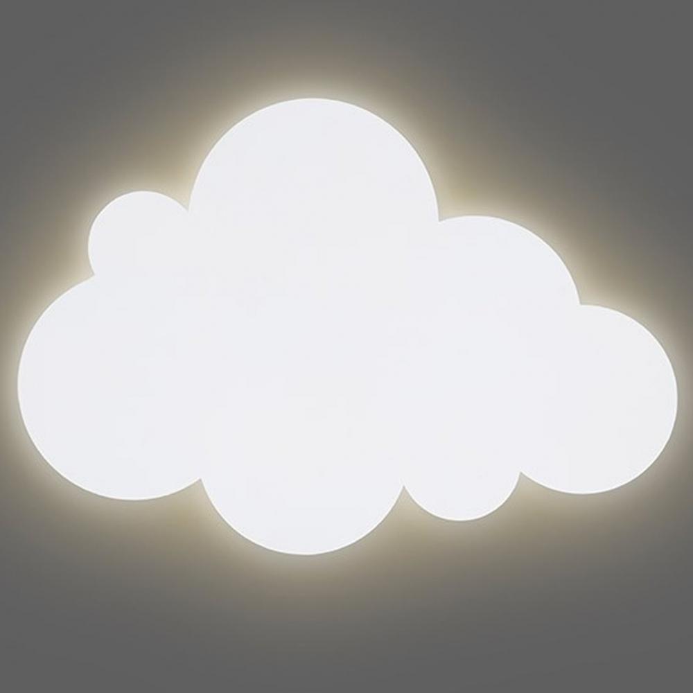 Lampa perete norisor alb