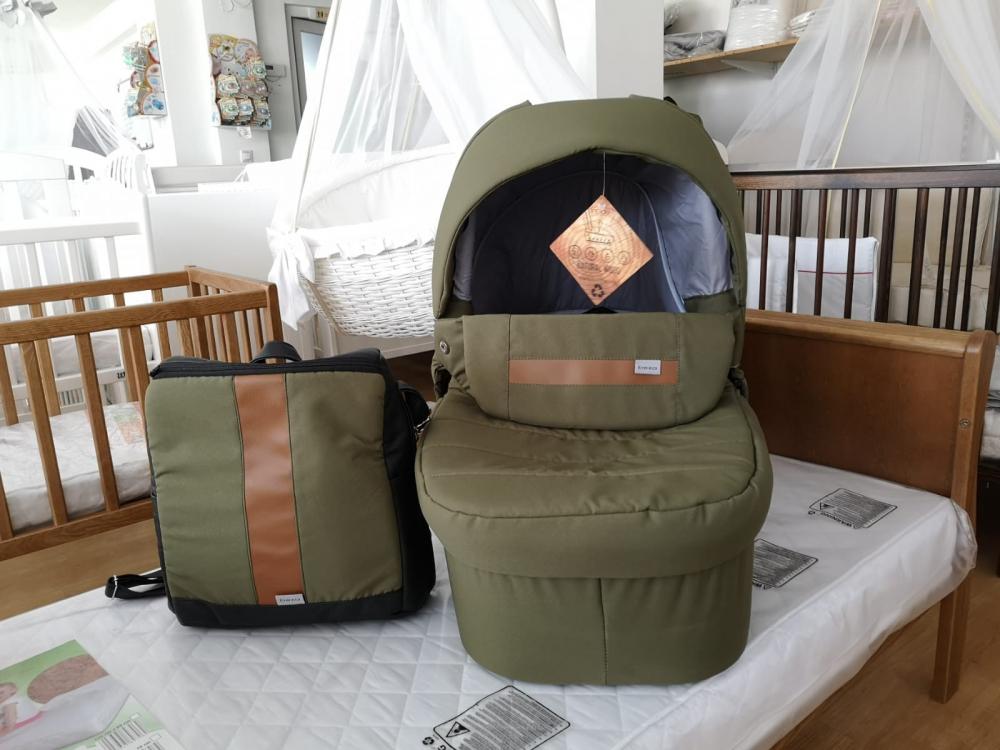 Landou Bexa Line Deep Forest cadou geanta cu accesorii