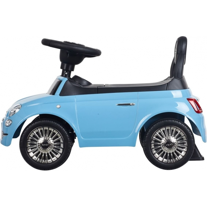 Masinuta de impins Sun Baby Fiat 500 albastru