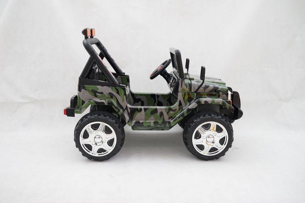 Masinuta electrica cu doua locuri Drifter Painted limited edition Army