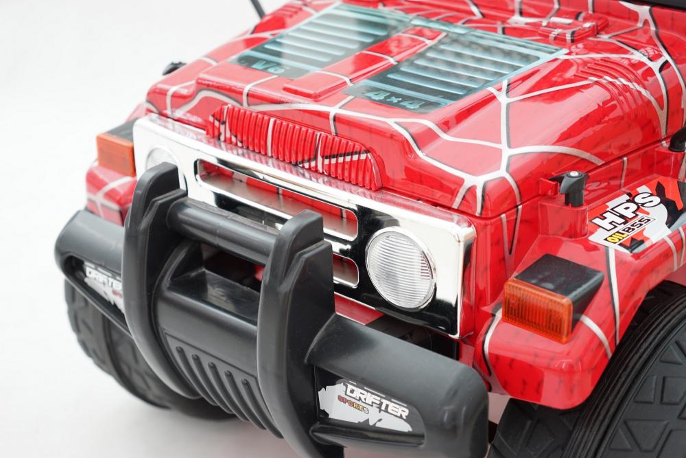 Masinuta electrica cu doua locuri Drifter Painted limited edition Red Spider - 5
