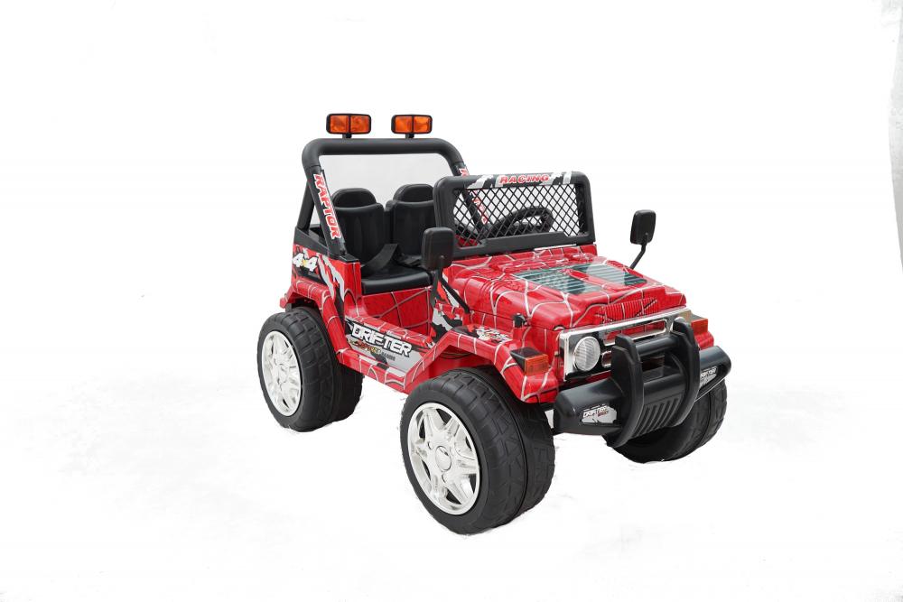 Masinuta electrica cu doua locuri Drifter Painted limited edition Red Spider - 6