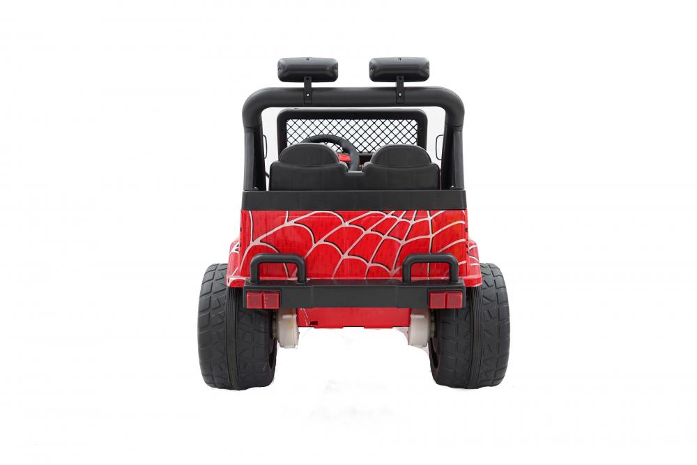 Masinuta electrica cu doua locuri Drifter Painted limited edition Red Spider - 7