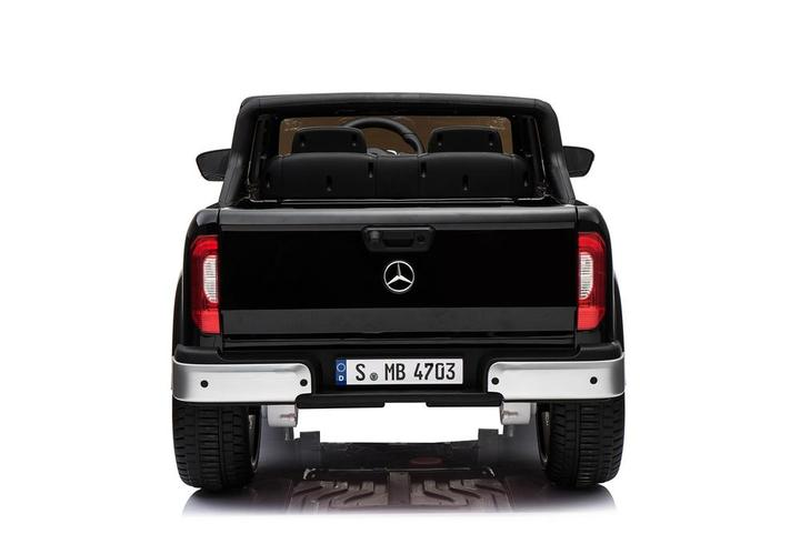 Masinuta electrica cu scaun de piele Mercedes Benz X-Class Black - 5