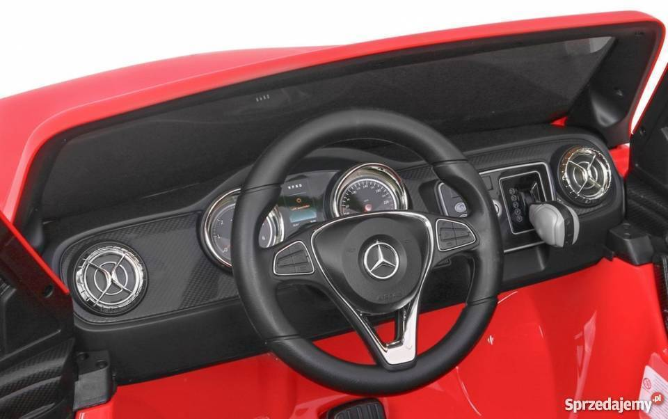 Masinuta electrica cu scaun de piele Mercedes Benz X-Class Police - 7