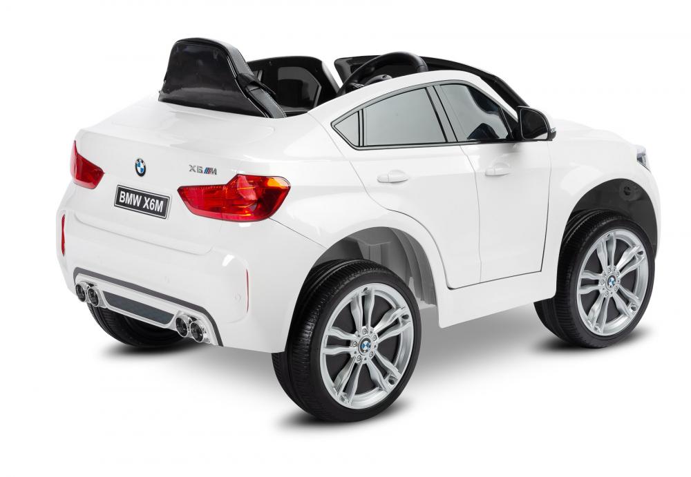 Masinuta electrica cu telecomanda Toyz BMW X6 M 12V alba - 1