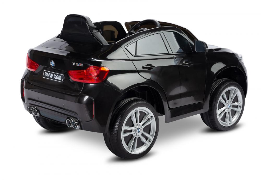 Masinuta electrica cu telecomanda Toyz BMW X6 M 12V neagra - 1