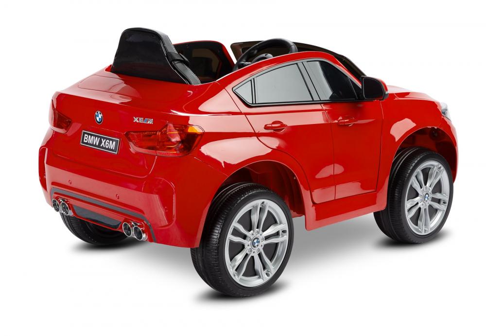 Masinuta electrica cu telecomanda Toyz BMW X6 M 12V rosie - 1