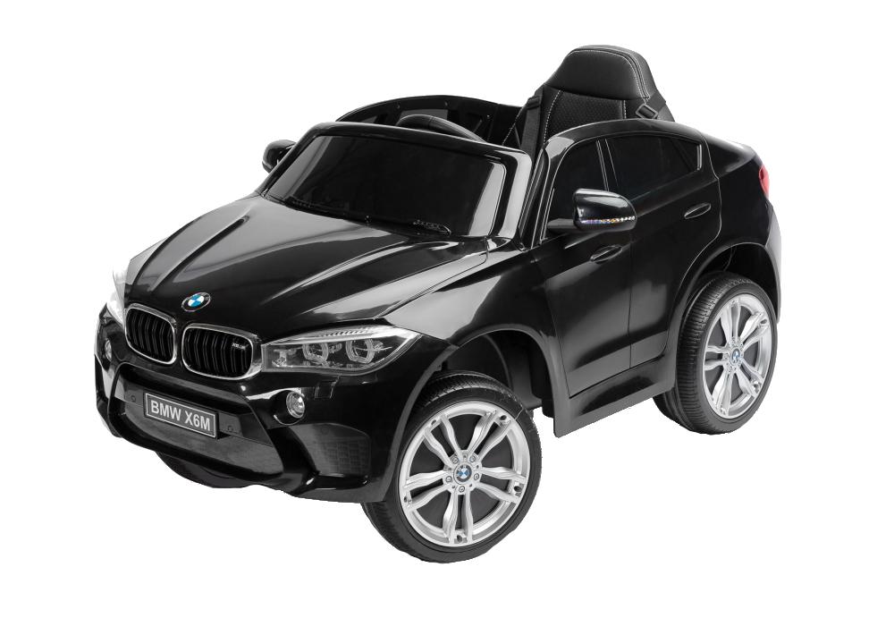 Masinuta electrica cu telecomanda Toyz BMW X6 M 12V neagra - 2