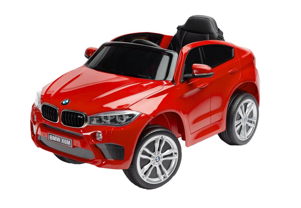 Masinuta electrica cu telecomanda Toyz BMW X6 M 12V rosie - 3