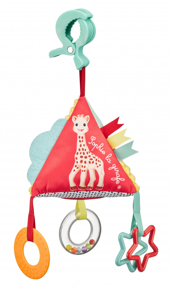 Piramida Girafa Sophie cu 3 activitati
