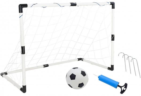 Poarta de fotbal pentru copii Globo WToy cu minge si pompa incluse