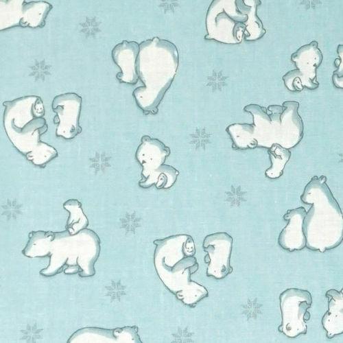 Sac de dormit primavara 0.8 tog Ursi Polari 140 cm