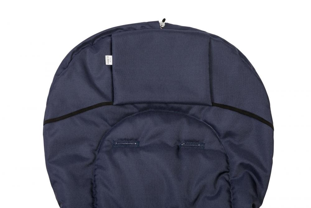 Sac de iarna Sensillo lana Navy 95x40 cm - 4