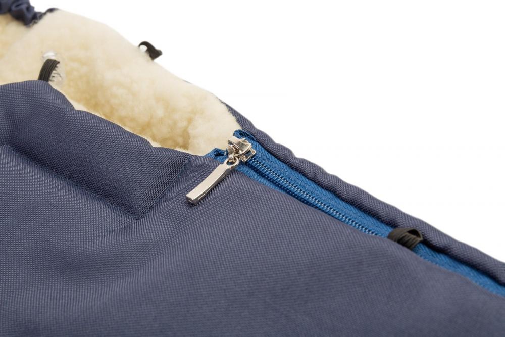 Sac de iarna Sensillo lana Navy 95x40 cm - 5