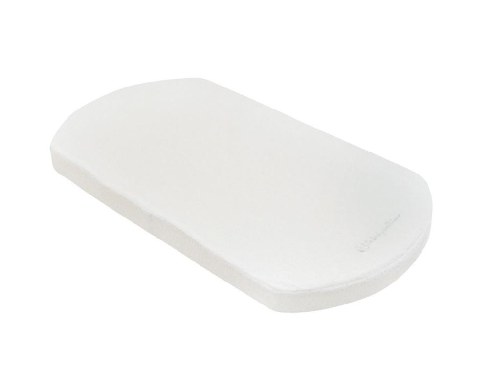 Saltea pentru landou 70x35 cm KikkaBoo Velvet White