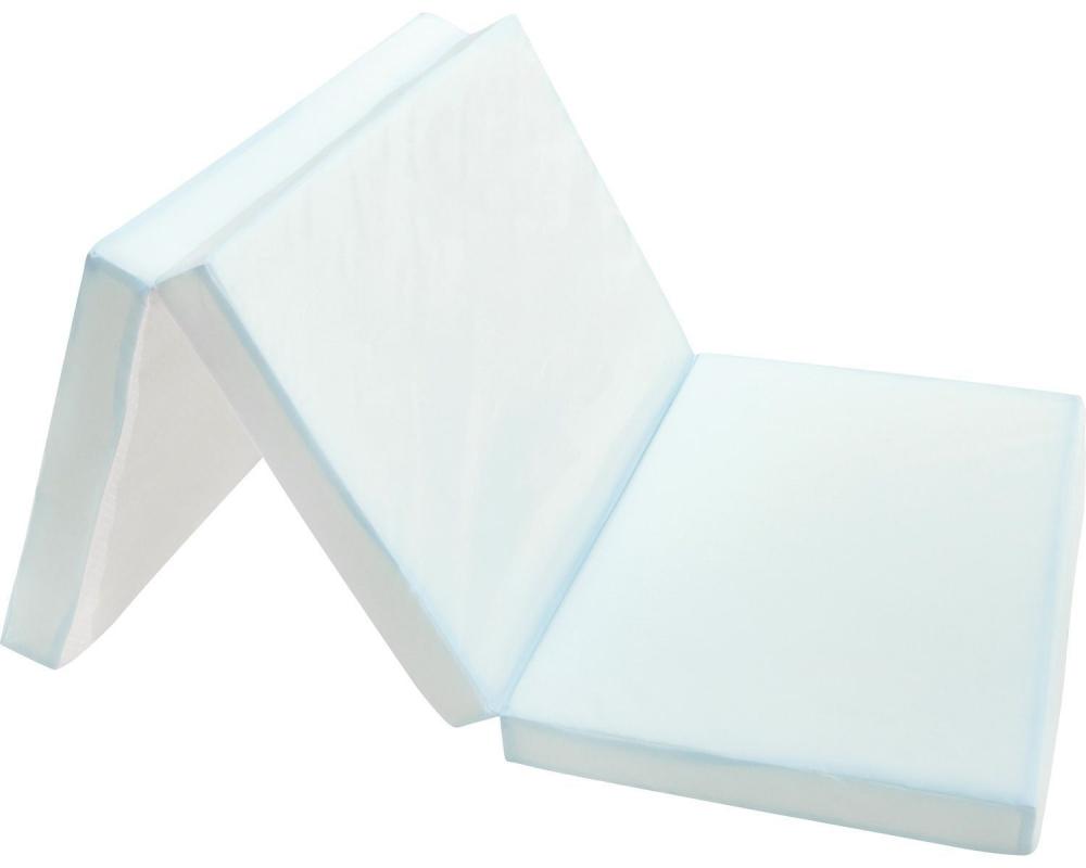 Saltea pliabila impermeabila 120x60x5 cm KikkaBoo Blue