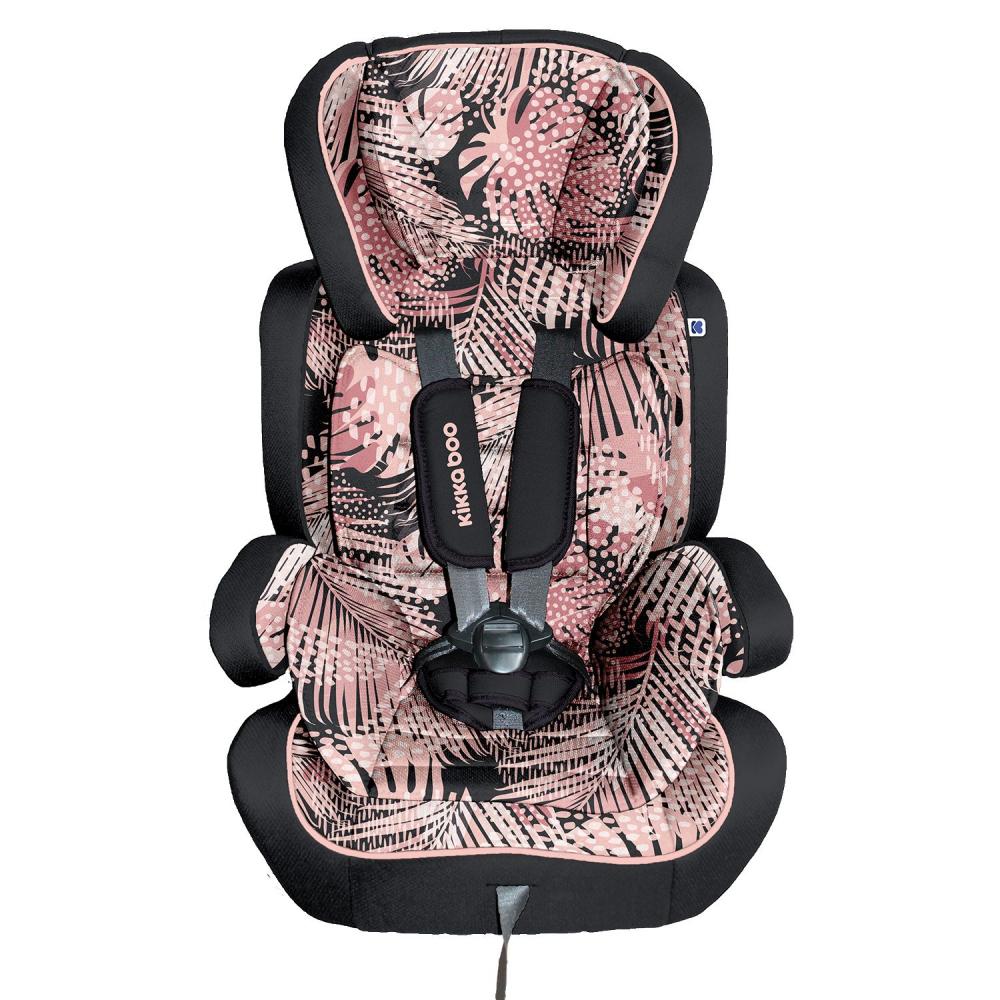 Scaun auto 1-2-3 (9-36 kg) KikkaBoo Joyride Pink 2020