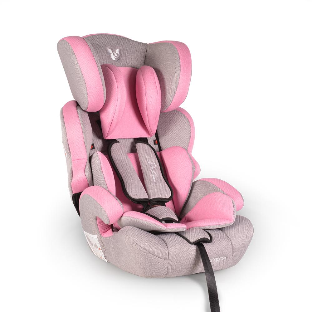 Scaun auto grupa 9-36 kg Cangaroo Deluxe Pink