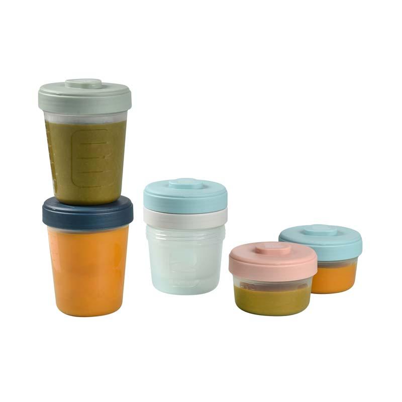 Set 6 recipiente hrana Beaba 2x90ml, 2x150, 2x250 ml