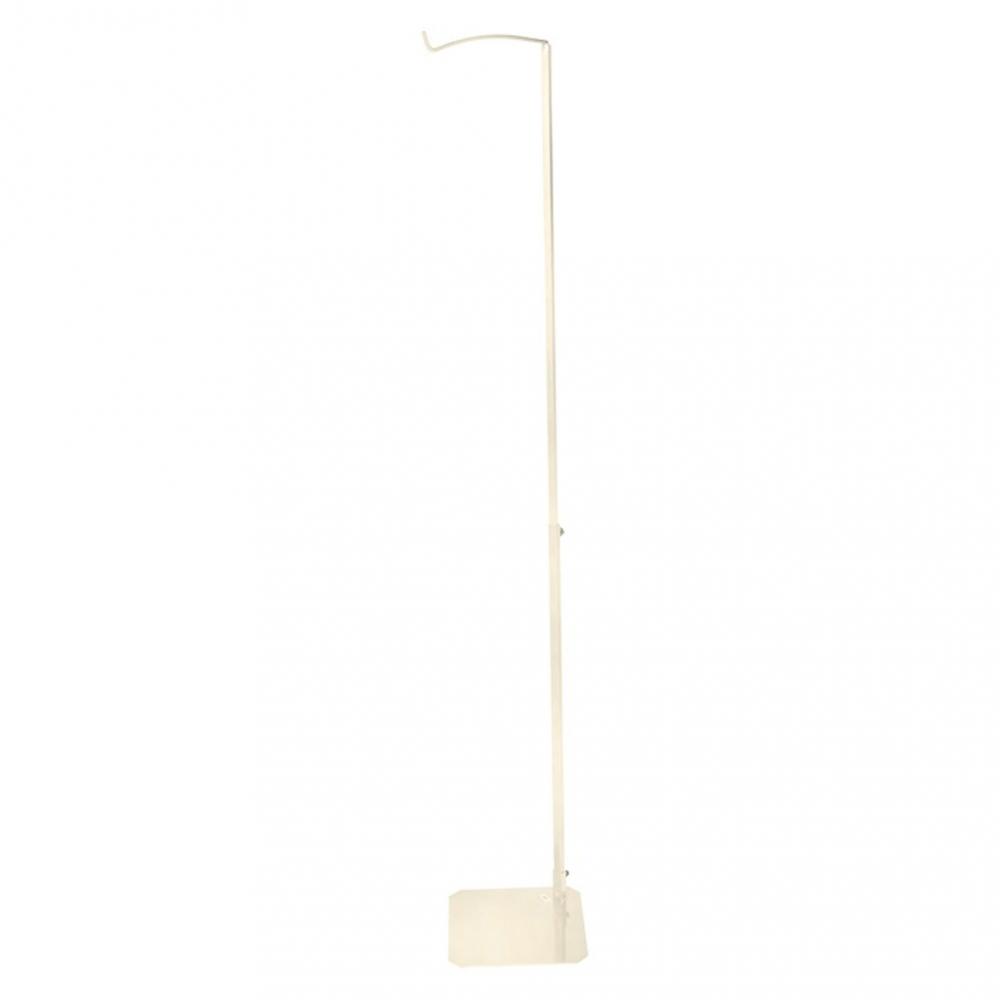 Suport pentru baldachin Jollein 155-230 cm alb