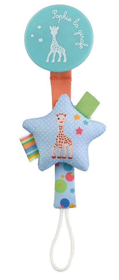 Suport pentru suzeta Star Girafa Sophie