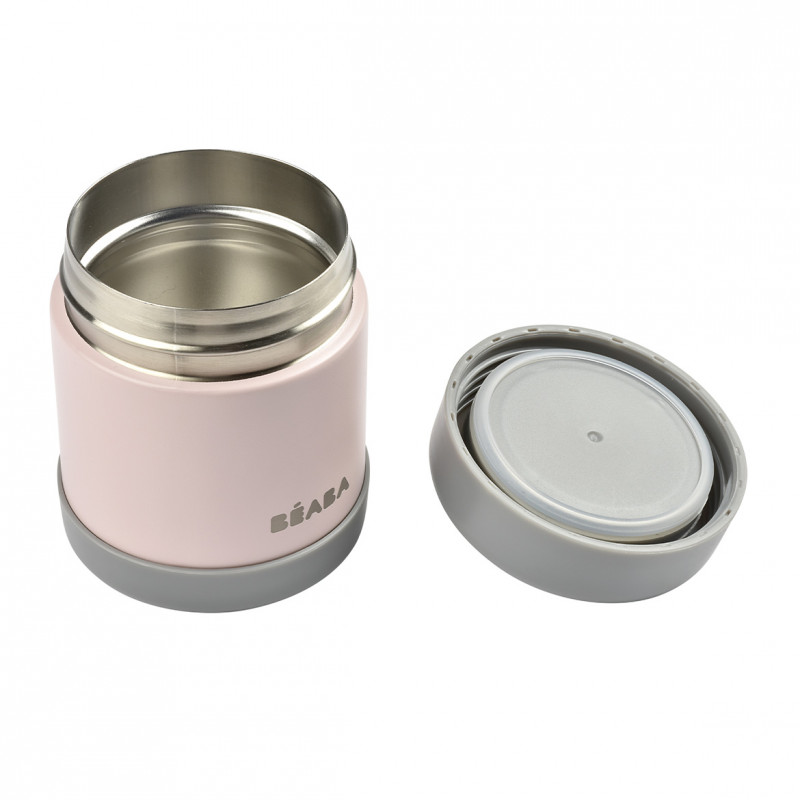 Termos alimente Beaba Thermo-Portion 300 ml Light Pink