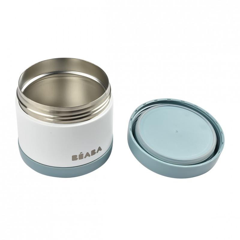 Termos alimente Beaba Thermo-Portion 500 ml WhiteBlue