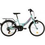 Bicicleta copii Kreativ 2014 turcoaz 20 inch